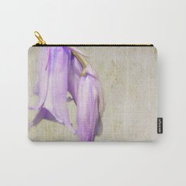 Pale Blue Carry-All Pouch