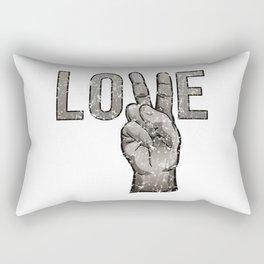 Peace Love Rectangular Pillow