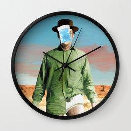 Les Cristaux de l'Homme Wall Clock