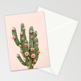 CACTUS AND ROSES Stationery Cards