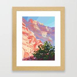 Utah Afternoon Framed Art Print