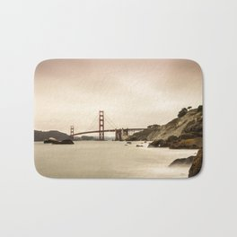 San Francisco Baker beach Bath Mat