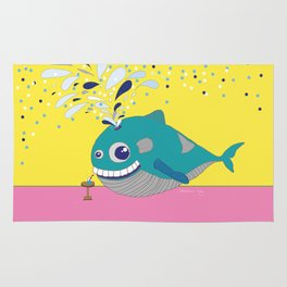 Hugo the Whale Rug