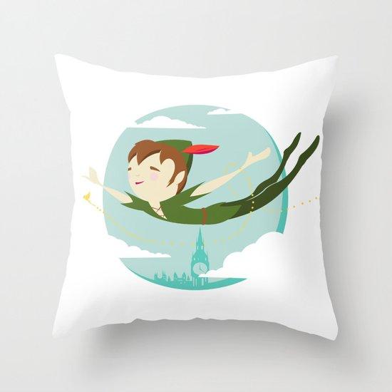 Storybook Pan Throw Pillow