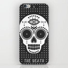 Minimal Tarot Deck The Death iPhone Skin