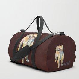Pomeranian Duffle Bag