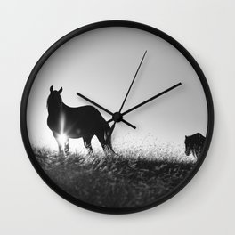 Romania memories Wall Clock