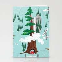 the national Stationery Cards featuring National Parks by Julie's Fabrics & Thingummies