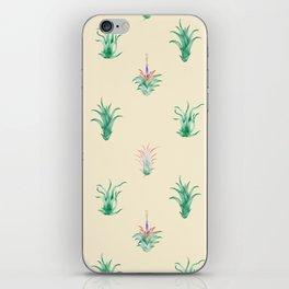 Watercolor Tilandsia Airplant iPhone Skin