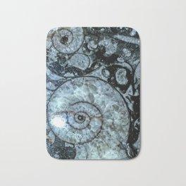 Goniatite Ammonite Bath Mat
