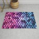 Mermaid Tail Pink Purple Blue by vintageappeal623