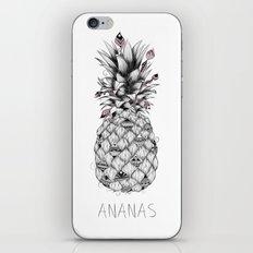 Ananas Pink iPhone & iPod Skin