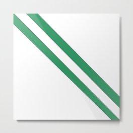 Flag of nigeria 2 -nigeria, nigerian,africa,hausa,igbo,Yoruba,Naira,Lagos,Kano Metal Print
