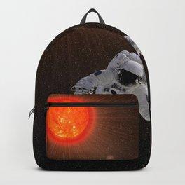 Astronaut Sun Stars Backpack