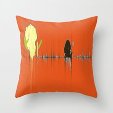 Abstracts Tango Throw Pillow
