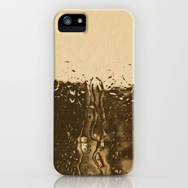 it´s raining outside iPhone Case