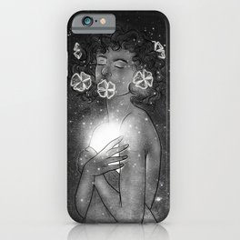 the shine of your deep soul. iPhone Case