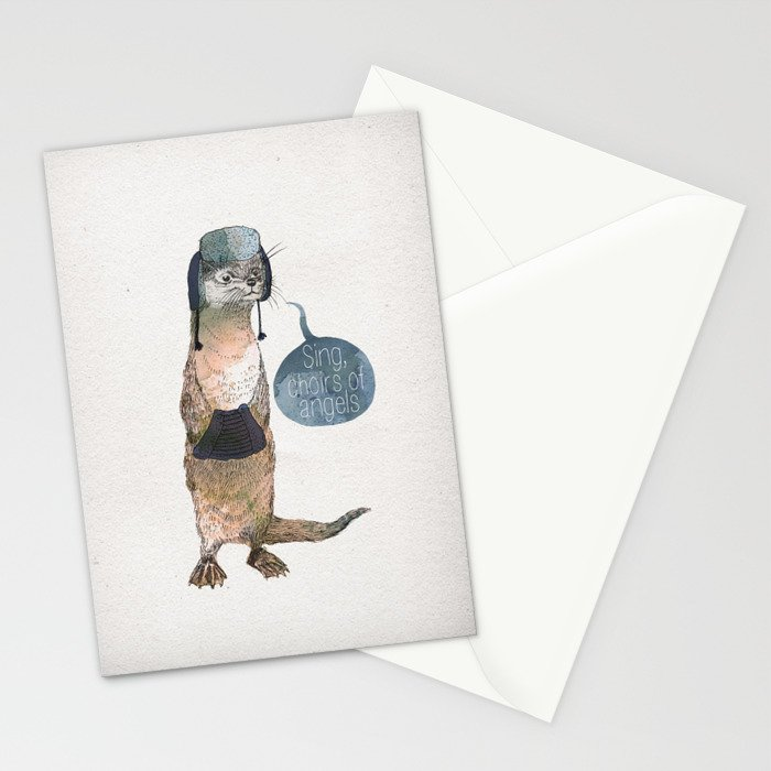 Sing, Choirs of Angels Stationery Cards