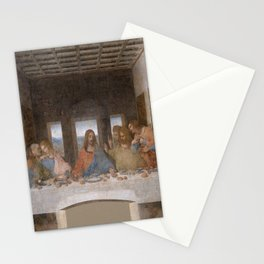 Leonardo da Vinci – Ultima cena – the last supper Stationery Cards