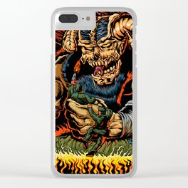 judgment of the devil Clear iPhone Case