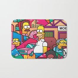 The Simpson Bath Mat