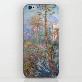 Claude Monet - Villas at Bordighera iPhone Skin