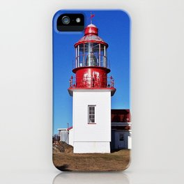 Lighthouse Cap-Chat Quebec iPhone Case