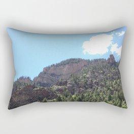 Jagged Edge Rectangular Pillow