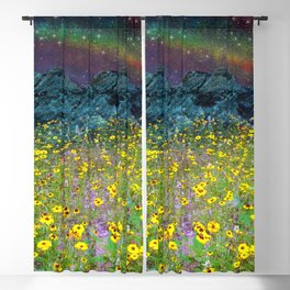 Over the rainbow Blackout Curtain