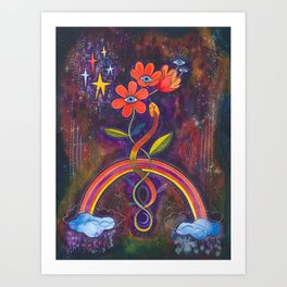 Time to bloom Art Print