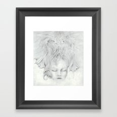 Moonflower Framed Art Print