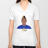 juventus V-neck T-shirts featuring PAUL POGBA - JUVENTUS by THE CHAMPION'S LEAGUE'S CHAMPIONS