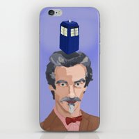 dr who iPhone & iPod Skins featuring Dr Who  by Kervin