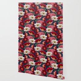 Flower garden III Wallpaper
