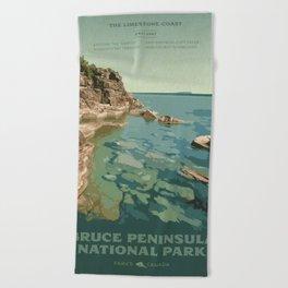 Bruce Peninsula National Park Beach Towel