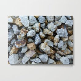 Pebble Metal Print