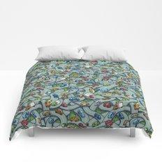 Overpasses Comforters