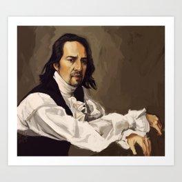 Alexander Hamilton Art Print