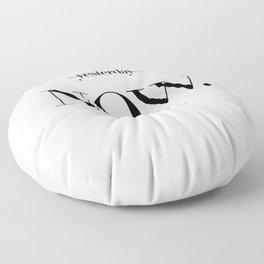 Carpe Diem Floor Pillow