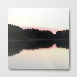 Magical Evening Moment in the Archipelago Metal Print