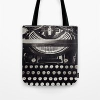melissa smith Tote Bags featuring Smith by inourgardentoo