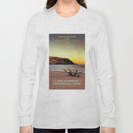 Lake Superior Provincial Park Long Sleeve T-shirt