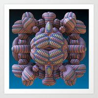 totem Art Prints featuring Totem by Lyle Hatch