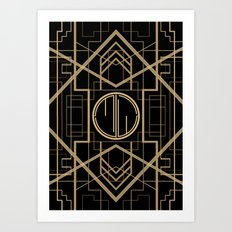 MJW- GREAT GATSBY STYLE Art Print