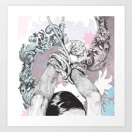 Tie Up Art Print