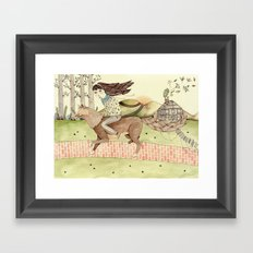 Seeking Home Framed Art Print
