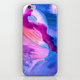 Danbury Abstract Watercolor Painting iPhone Skin