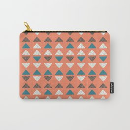 Triangles + Dots Carry-All Pouch