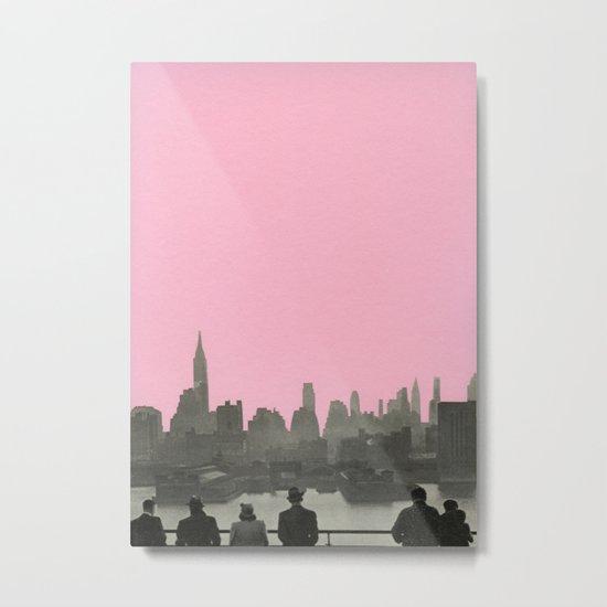 New York Nights Metal Print