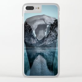 Under the surface Clear iPhone Case